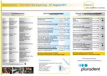2011 - Fortbildungsakademie Zahnmedizin Hessen GmbH