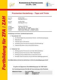 Update-Seminare - Fortbildungsakademie Zahnmedizin Hessen ...