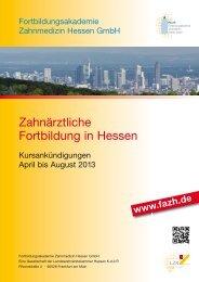 FAZH - ZA 6S Ausg 2013 04 bis 08 - Fortbildungsakademie ...