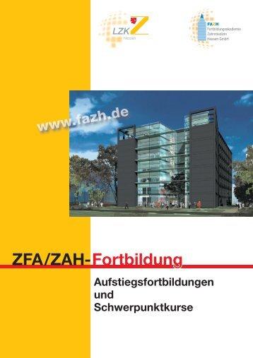 ZFA/ZAH-Fortbildung - Fortbildungsakademie Zahnmedizin Hessen ...