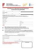 Anmeldung zur Aktualisierung der Kenntnisse im Strahlenschutz - Page 2