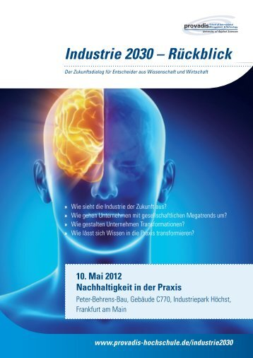 Industrie 2030 – Rückblick - FAZ-Institut