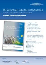 Die Zukunft der Industrie in Deutschland - FAZ-Institut