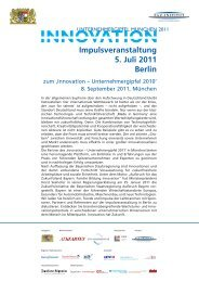Impulsveranstaltung 5. Juli 2011 Berlin - FAZ-Institut