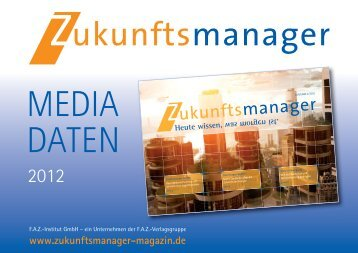 MEDIA DATEN - FAZ-Institut