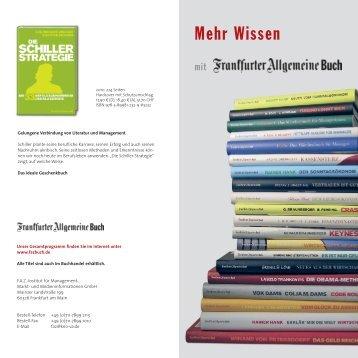 Mehr Wissen - FAZ-Institut
