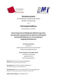 Bachelorarbeit Christoph Kaffatos - Fakultät 06 - Hochschule München