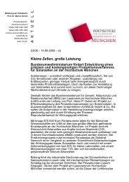 A K T U E L L - Hochschule München