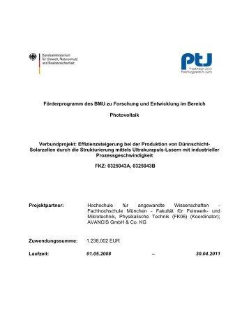zu SECIS - Fakultät 06 - Hochschule München