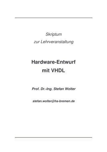 Hardware-Entwurf mit VHDL