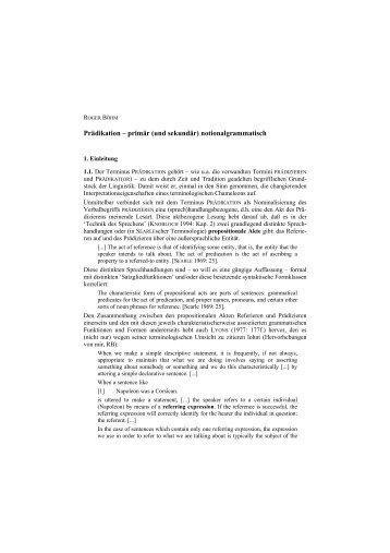 notionalgrammatisch - Fachbereich 10 - Universität Bremen