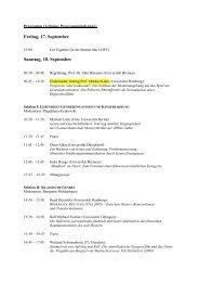 Programm - Universität Bremen