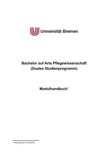 Modulhandbuch BA Pflegewiss (dual) final