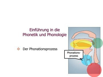 Phonetik und Phonologie 5