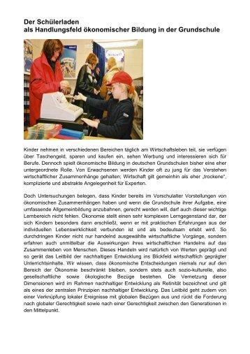 Schülerladen - Fachbereich 12 - Universität Bremen