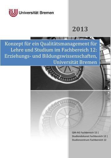Zum QM-Konzept für Studium und Lehre am FB 12 - Fachbereich 12 ...
