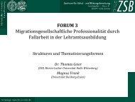 Migrationsgesellschaftliche Professionalität durch Fallarbeit in ...
