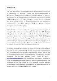 FAQ final - Fachbereich 12 - Universität Bremen