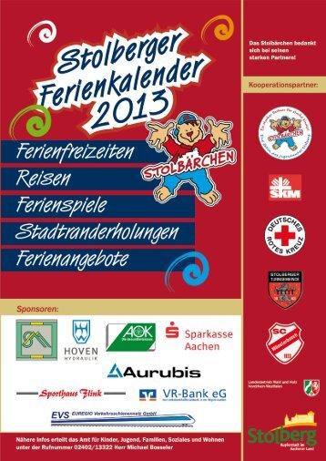 Stolberger Ferienkalender