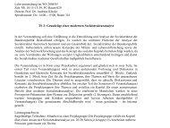 Mi. 10:15-13:30, PC-Raum 029 Dozent: Prof. Dr. Andreas Klocke ...