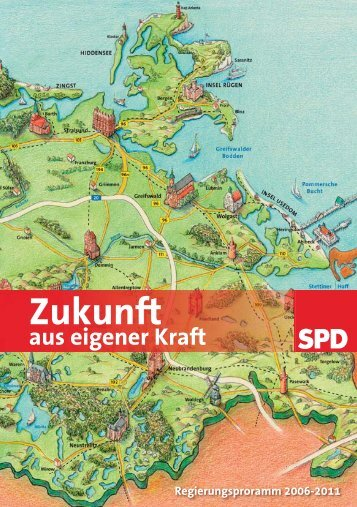 Wahlprogramm der SPD Mecklenburg