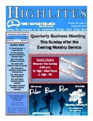 20130124 - January 24, 2013.pdf - First Baptist Church