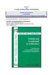 Buch zu 10 JAHRE SCHMALKALDER FACHTAGUNGEN - FBF ...