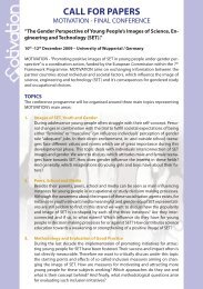 Call For Papers A5 - MOTIVATION - 2009.indd