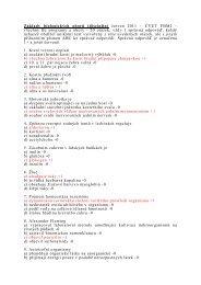Přijímací testy pro všechny Bc. stud. programy ze Základů ... - FBMI