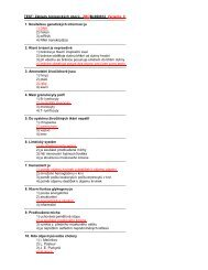 TEST: Základy biologických oborů - ZBOBc060912 Varianta ... - FBMI