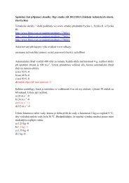 Základy technických oborů, část fyzika - FBMI