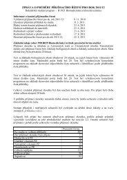 Bc. stud. program Biomedicínská a klinická technika - FBMI