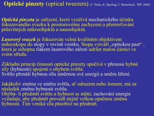 Optická manipulace.pdf - FBMI