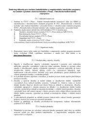 smernice mgr.+Bc. studium0607 - FBMI