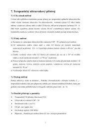 7. Terapeutický ultrazvukový přístroj - FBMI
