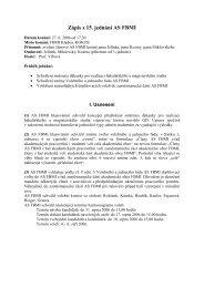 Zápis z 15. jednání AS FBMI