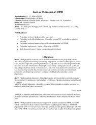 Zápis ze 17. jednání AS FBMI
