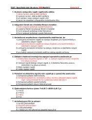 Přijímací testy pro Mgr. stud. obor Biomedicínský inženýr ze ... - FBMI