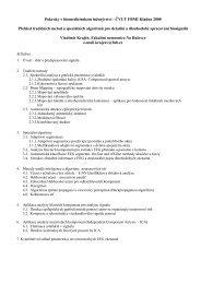 Zpracování biosignálů-Kladno 08 - FBMI