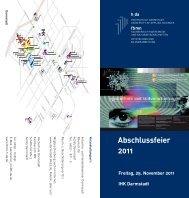 Abschlussfeier 2011 - Fachbereich Mathematik und ...