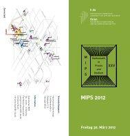 MIPS 2012 - Fachbereich Mathematik und Naturwissenschaften ...