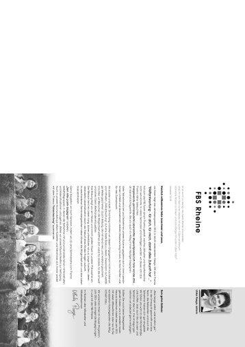 FBS Programm 2013 - Familienbildungsstätte Rheine