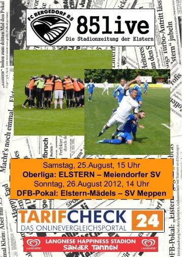 Samstag, 25. August 2012 Elstern - Meiendorfer ... - FC Bergedorf 85