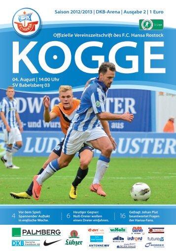 SV Babelsberg 03 - FC Hansa Rostock