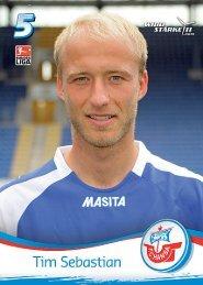 Tim Sebastian - FC Hansa Rostock