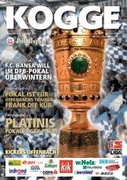 Kickers Offenbach - FC Hansa Rostock