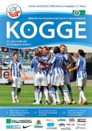 SV Stuttgarter Kickers - FC Hansa Rostock