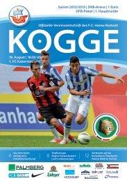 1. FC Kaiserslautern - FC Hansa Rostock