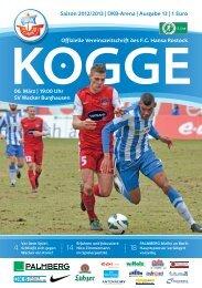 SV Wacker Burghausen - FC Hansa Rostock