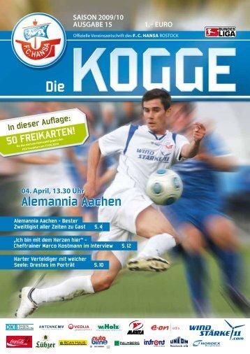 Alemannia Aachen - FC Hansa Rostock